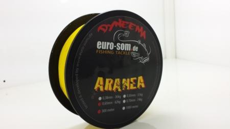Плетёный сомовий шнур euro-som ARANEA 300m / 0,60mm-62kg