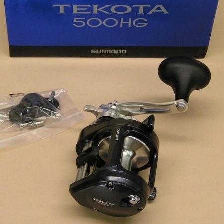 Мультипликаторная катушка Shimano Tekota 500 HG(RH)