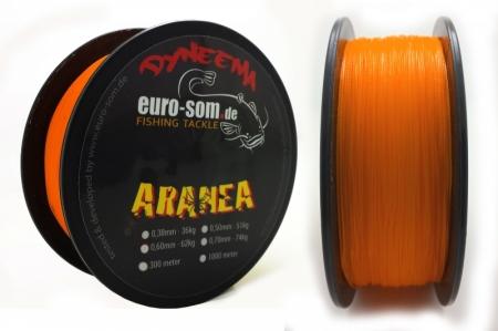 Плетёный сомовий шнур euro-som ARANEA 1000m / 0,38mm