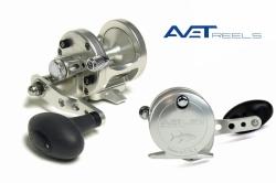 Мультипликаторная катушка AVET SXJ 5.3 LH - MC- Silver